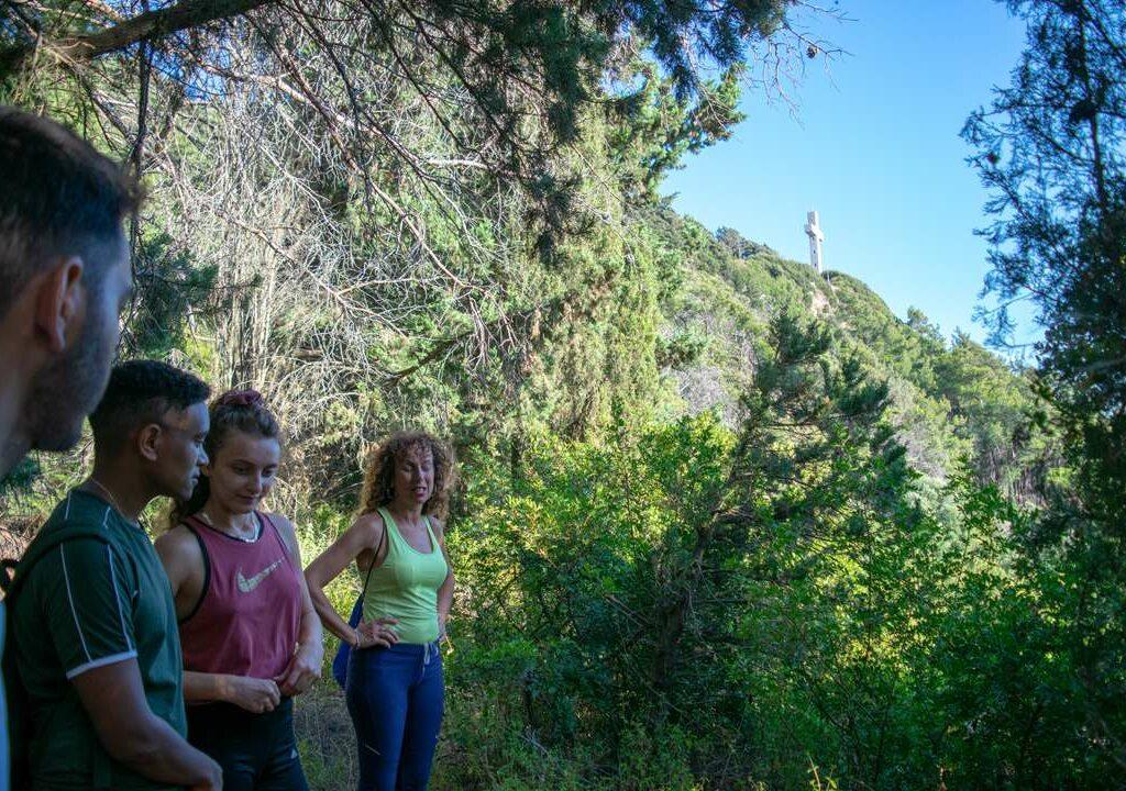 filerimos hiking people