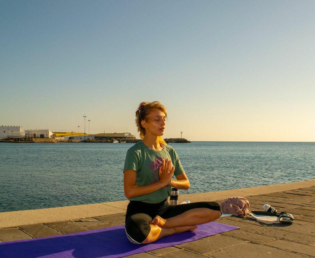 sunrise yoga instructor