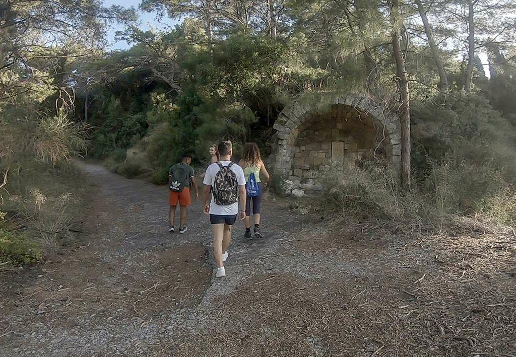 filerimos hiking water