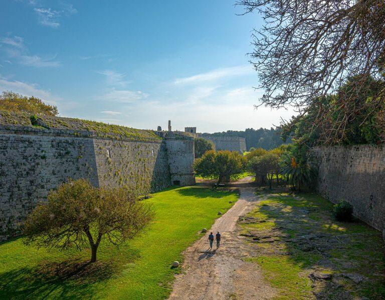 medieval moat rhodes
