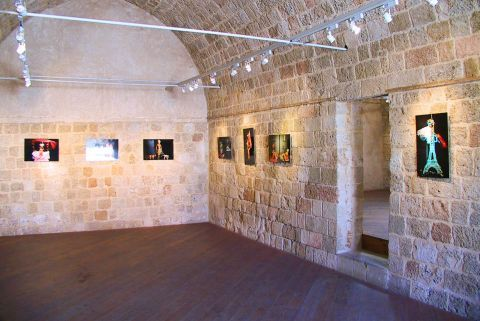 modern greek art museum, rhodes